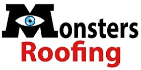 Monsters Roofing Logo