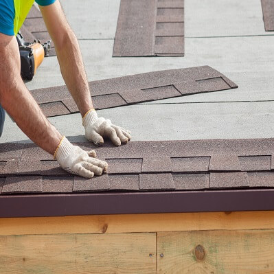Composition Shingle Roof Installation