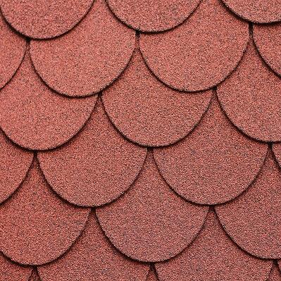 Round Asphalt Shingle Roofing